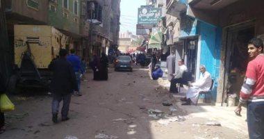 صور.. فض أسواق أبو حسين وكفر أباظة فى مركز الزقازيق
