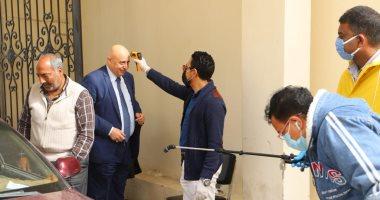 وزير القوى العاملة يتابع اتخاذ الإجراءات الاحترازية لجميع العاملين بالوزارة