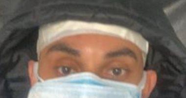 زوجة محمد مجدى لاعب الإسماعيلي : مازال تحت فحص فيروس كورونا