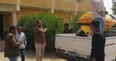 رئيس مدينة الطود: تعقيم مبانى الخدمات الحكومية لمكافحة فيروس كورونا