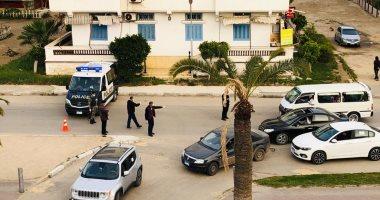 فيديو وصور.. أمن دمياط يفض تجمعات بمنطقة اللسان ويغلق بوابات دخول رأس البر