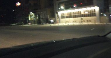 هدوء فى شوارع الغربية مع بداية حظر التجوال