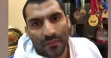 """فيديو.. رمضان درويش بطل الجودو: كورونا أعاد """"لمة العيلة"""" للبيوت المصرية"""