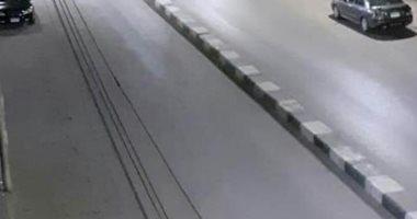 قارئ يشارك بصورة لخلو شوارع الخارجة بالوادى الجديد من المواطنين