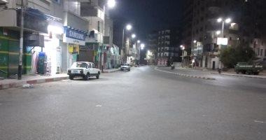 قارئ يشارك بصورة لشوارع المساكن بقنا خالية من المواطنين تنفيذا لقرار حظر التجوال