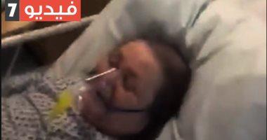 بريطانى يوثق لحظات موت والدته بسبب كورونا داخل حجرتها بالمستشفى.. فيديو