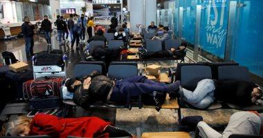 تكدس السائحين وارتباك بمطار إسطنبول الدولى بسبب كورونا