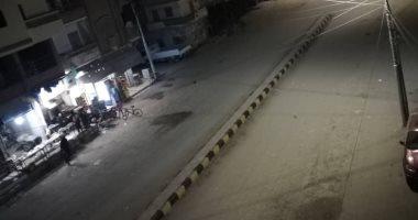 من البلكونة.. ياسر يشارك بصورة لمظاهر الحظر من كفر الشيخ