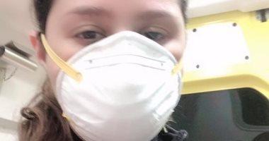 إيناس عز الدين فى لايف جديد: أنا أقوى من فيروس كورونا