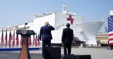 """نيويورك تايمز: مستشفى البحرية الأمريكية """"كومفرت"""" لم تستقبل سوى 20 مريضا"""
