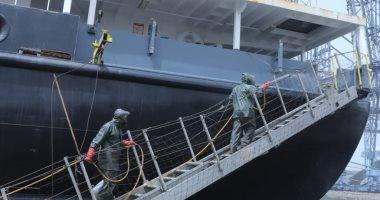 تفاصيل الجرارات الجديدة التى وصلت لميناء الإسكندرية لدعم أسطول السكك الحديدية
