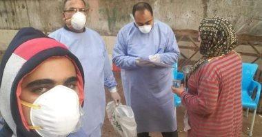 أحد سكان الهياتم: الأهالى يتبعون إجراءات الوقاية والمصابون بكورونا حالاتهم جيدة