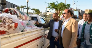 محافظ أسوان: تقديم الخدمات اللازمة لـ1150 سودانى عالق بالسباعية -