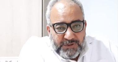 شكرا أبطال مصر.. بيومى فؤاد يوجه رسالة للأطباء لدورهم فى مكافحة كورونا (فيديو)