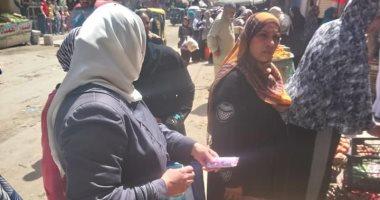 صور.. حملات تموينية على أسواق العامرية غرب الإسكندرية