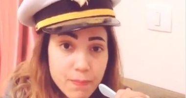 """إيمى طلعت زكريا تقلد والدها بفيديو جديد على""""تيك توك"""".. وتعلق:متنسوش تدعو له"""