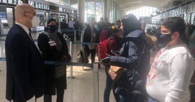 اجلاء 308 مواطنين عراقيين من عمان الى العراق  -