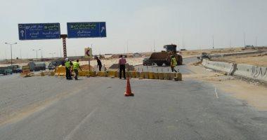 المرور: تعيين خدمات ومراقبة غرف العمليات لحركة السيارات بمحيط إصلاحات الطريق الدائرى