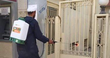 """صور.. حملات تطهير للشوارع والميادين والمصالح الحكومية بـ""""أبو كبير"""" فى الشرقية"""