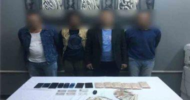 سقوط 4 متهمين بترويج المواد المخدرة بالجيزة