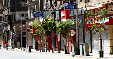 إغلاق كامل لمحلات وسط القاهرة تنفيذا لقرار الحظر.. فيديو وصور