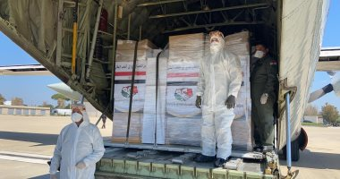 رئاسة الجمهورية: طائرتان عسكريتان تحملان مستلزمات طبية ومساعدات لإيطاليا