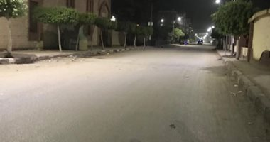 بدء حظر التجوال في البلاد لليوم الثالث عشر وانتشار شرطي مكثف بالشوارع