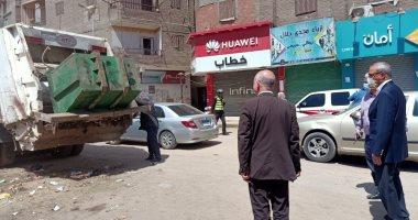 محافظ القليوبية يجرى جولة تفقديه مفاجئة بحى شرق وغرب شبرا الخيمة