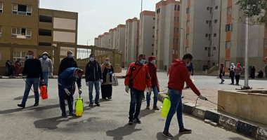 مبادرة لتطهير شوارع الاسمرات من فيروس كورونا