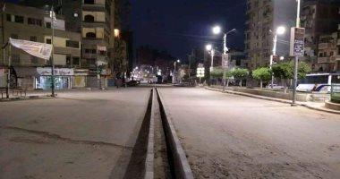ضياء يشارك صورة خلو قرية شربين بالدقهلية من المارة خلال حظر التجوال