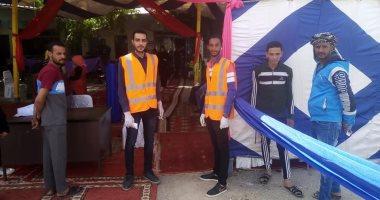 متطوعون لتنظيم صرف المعاشات في 42 منفذا للصرف بالوادي الجديد