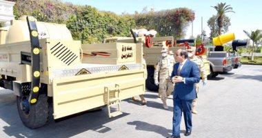 أخبار مصر اليوم.. الرئيس السيسي يدير أزمة كورونا ميدانيا