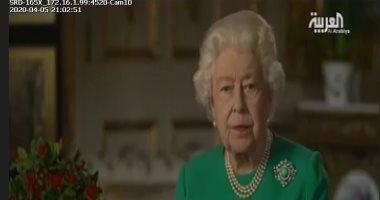 الملكة اليزابيث: فيروس كورونا تسبب فى الكثير من المتاعب للشعب البريطانى