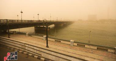 رياح مثيرة للأتربة فى سماء القاهرة والمحافظات وانخفاض الحرارة 6 درجات