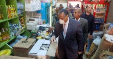 محافظ أسيوط: تحرير 66 محضر تموينى خلال حملات رقابية لضبط الأسعار.. صور -