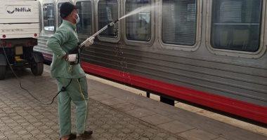 النقل: السكة الحديد نقلت أمس 352 ألف راكب مع إجراءات الوقاية ضد كورونا