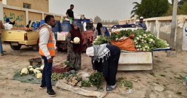 تكثيف الإجراءات الاحترازية للوقاية من كورونا وفض الأسواق العشوائية غرب الإسكندرية