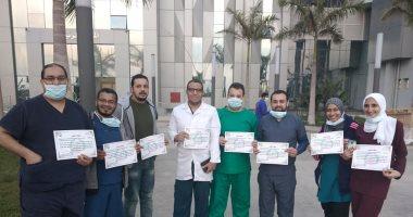 شاهد.. مستشفى أبوخليفة للحجر الصحى بالإسماعيلية.. إقامة فندقية وخدمة طبية عالمية