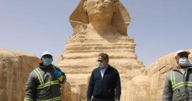 وزير السياحة والآثار: تمديد الإقامة حال انتهائها لأى سائح