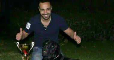 أحمد فهمى ينعى كلبه المفضل: آرثر المحارب افتقدك.. أعز صديق لى