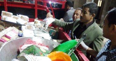تحرير 74 محضر تموينى وضبط مصنع عصائر مجهولة المصدر بسوهاج(صور)