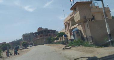 كيف التزم أهالى قرية الهياتم بالعزل المنزلى فى الغربية بسبب كورونا؟.. صور