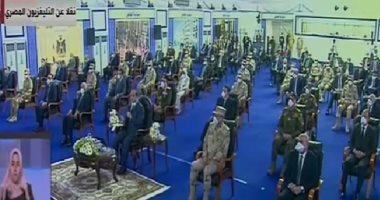 الرئيس: المشككون فى قدرة مصر لا يستهدفون السيسي ولكن مصر والمصريين