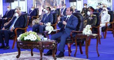 """الرئيس السيسى: """"عاوزين نحتفل بأن مصر ليس بها اصابات أو فيات بسبب كورونا"""""""