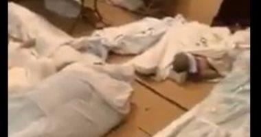 فيديو مؤثر لتكدس جثامين المسلمين ضحايا كورونا قبل دفنهم فى نيويورك