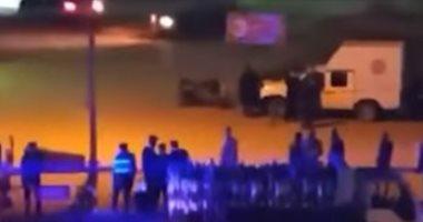 فيديو.. لحظة فرض الحجر الصحى على قرية المعتمدية بكرداسة