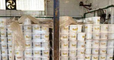 صور .. شرطة المسطحات بالقليوبية تضبط 3 مصانع غير مرخصة