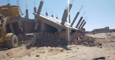 فيديو وصور.. محافظة جنوب سيناء تشن حملات إزالة تعديات على أملاك الدولة