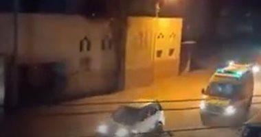 الإسعاف تنقل مصابى كورونا بالمنصورة وسط دعوات وبكاء المواطنين.. فيديو