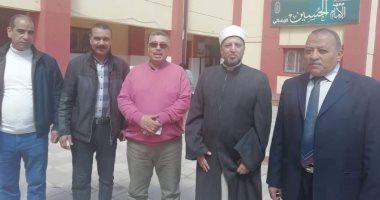 استمرار أعمال لجنة تفقد مقرات الشهادة الثانوية الأزهرية بالإسكندرية